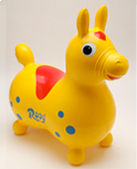 Rody Pony Horse: Yellow